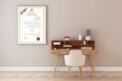گواهینامه ها و تقدیر نامه ها