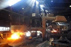 نمای داخلی کارخانه ذوب بریس
